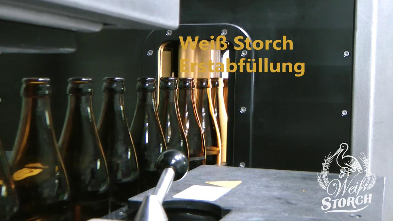 Weißstorch Erstabfüllung - Storchenbräu Pfaffenhausen