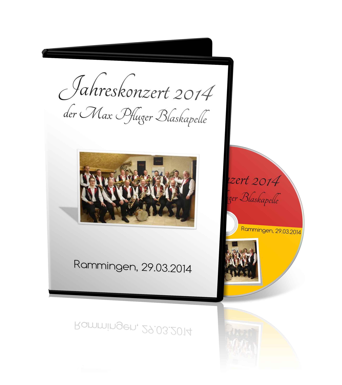 DVD - Jahreskonzert Max Pfluger