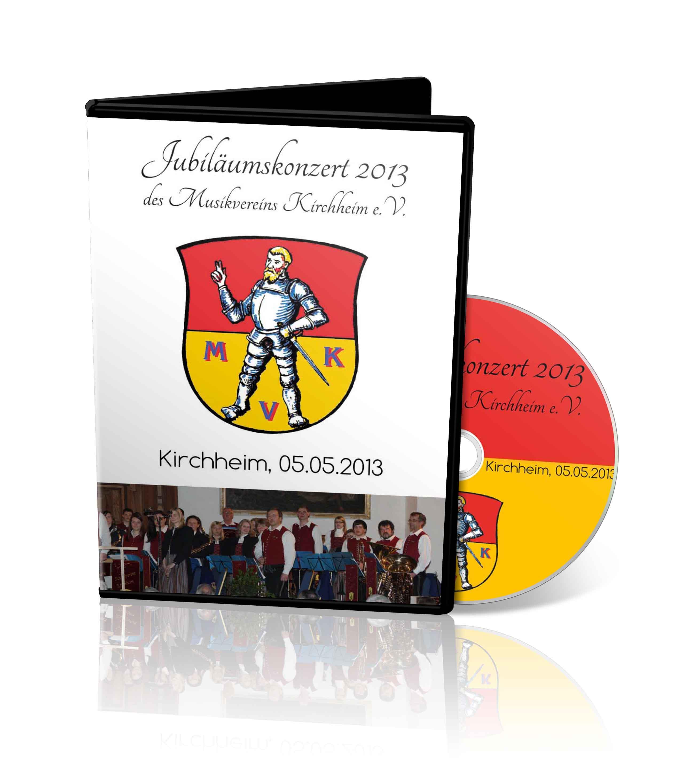 DVD - Jubiläumskonzert Musikverein Kirchheim